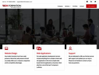 techformation.co.in screenshot