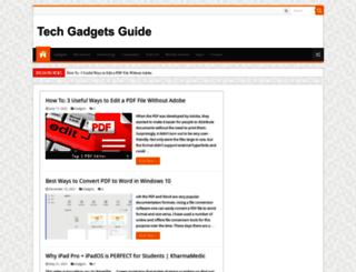 techgadgetsguide.com screenshot