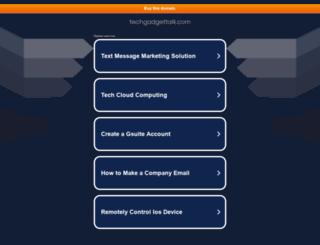 techgadgettalk.com screenshot