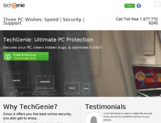 techgenie.com screenshot