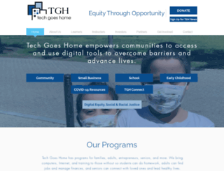 techgoeshome.org screenshot