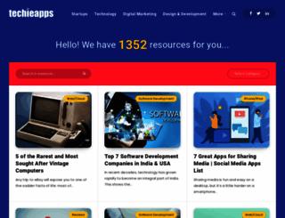 techieapps.com screenshot