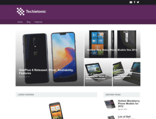 techietonic.com screenshot