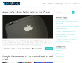 techjanu.com screenshot