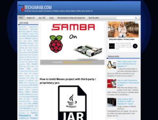 techjawab.com screenshot