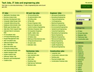 techjob.tech screenshot