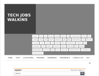 techjobswalkins.com screenshot