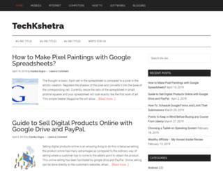 techkshetra.com screenshot