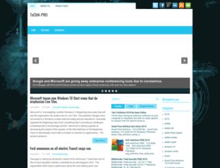 techn-pro.blogspot.com screenshot