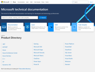 technet.microsoft.com screenshot