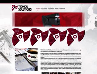 technical-solutions.lv screenshot
