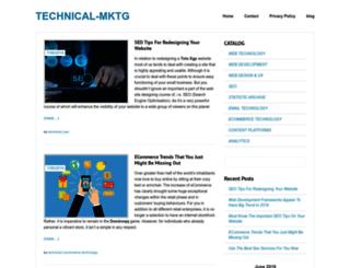 technicalmktg.com screenshot