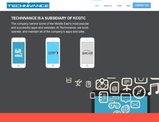 technivance.com screenshot