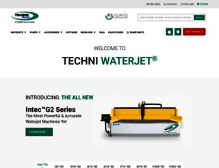 techniwaterjet.com screenshot