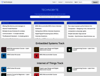 technobyte.org screenshot