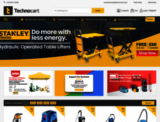 technocart.com screenshot
