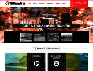 technogates.com.au screenshot