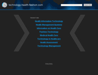 technology-health-fashion.com screenshot
