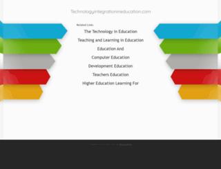 technologyintegrationineducation.com screenshot