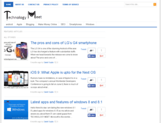 technologymeet.com screenshot