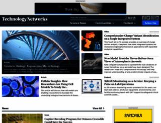 technologynetworks.com screenshot