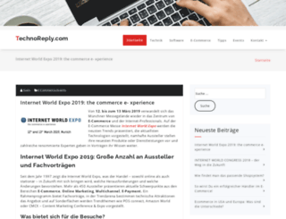 technoreply.com screenshot