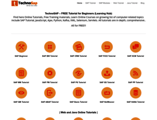 technosap.com screenshot
