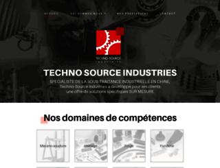 technosource-industries.com screenshot