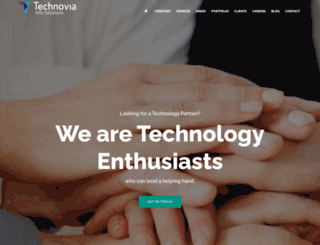 technovia.org screenshot