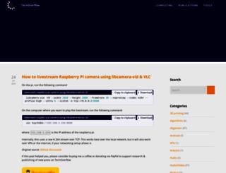 techoverflow.net screenshot