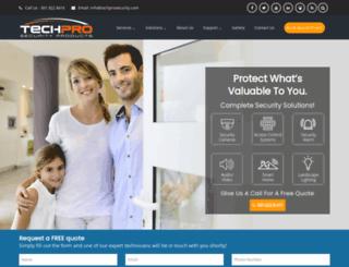 techprosecurity.com screenshot