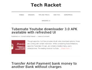 techracket.com screenshot