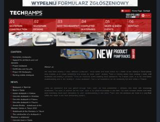 techramps.com screenshot
