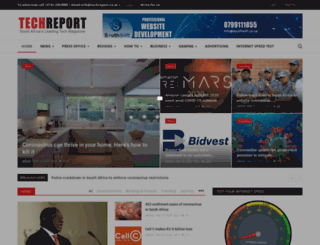 techreport.co.za screenshot