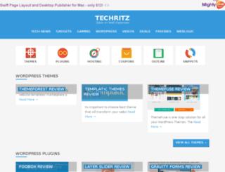 techritz.com screenshot