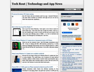 techrout.blogspot.in screenshot