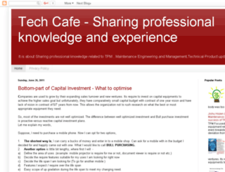 techsharecafe.blogspot.com screenshot