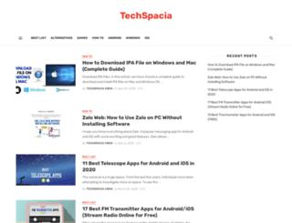 techspacia.com screenshot