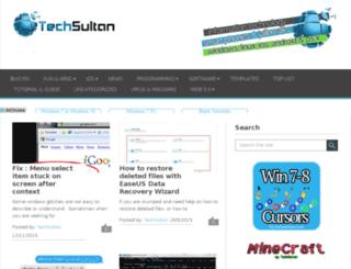 techsultan.com screenshot