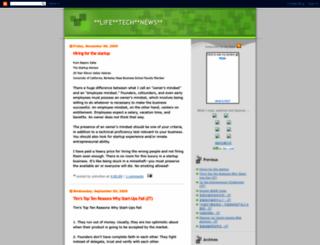 techtsunami.blogspot.fr screenshot