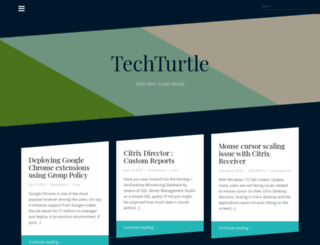 techturtle.net screenshot