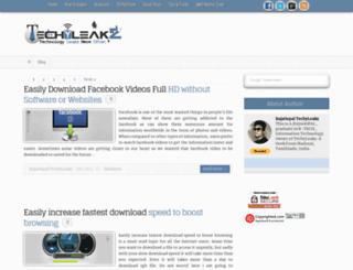 techyleakz.com screenshot