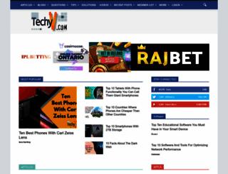 techyv.com screenshot
