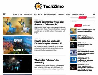 techzimo.com screenshot