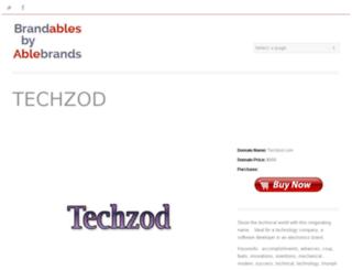 techzod.com screenshot