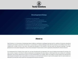techzsolutions.com screenshot