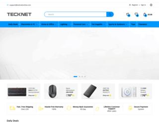 tecknetonline.com screenshot