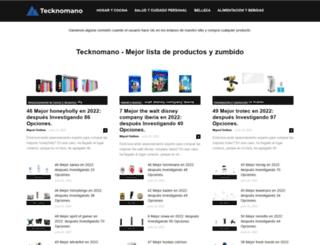 tecknomano.com screenshot