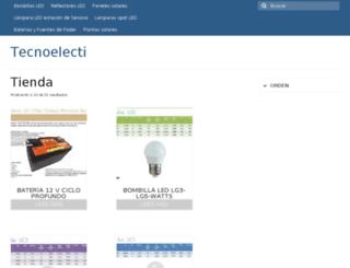 tecnoelectic.com screenshot