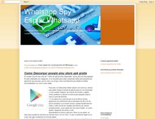 tecnologiaespia.blogspot.com.es screenshot